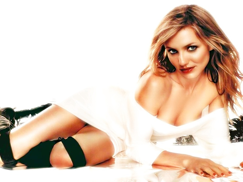 Cameron Diaz Health Forecasting Cleavage
