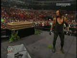 The Undertaker Appears In The Ring - Raw 30-03-09